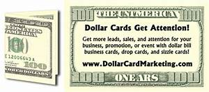 100 dollar bill business card best business cards With 100 dollar bill drop card template