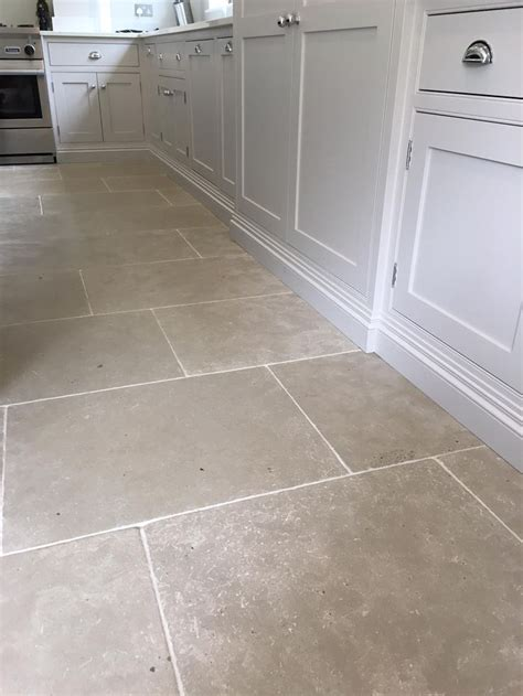 kitchen flooring ideas uk grey limestone tiles for a durable kitchen floor