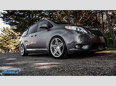 Car Toyota Sienna on Vossen CV5 Wheels California Wheels