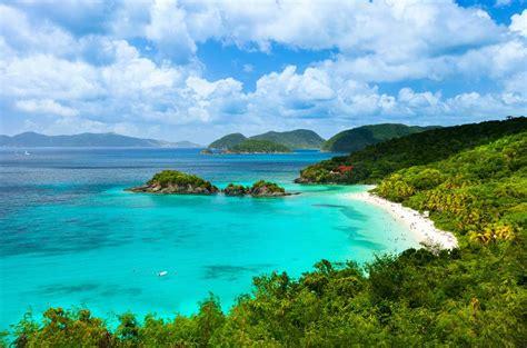 st john weather islands island bay trunk virgin beach caribbean january