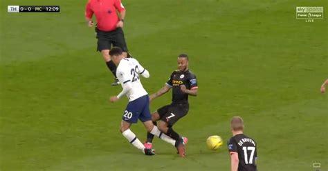 Arsenal fans rage at VAR decision during Tottenham vs Man ...