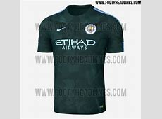 Manchester City 1718 Home, Away & Third Kits Revealed