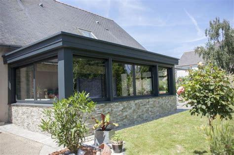 med cuisine veranda moderne véranda et verrière autres