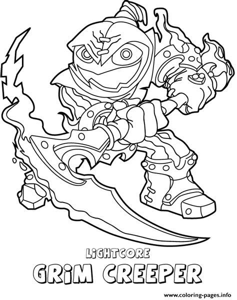 Coloring Pages Skylanders Swap Force. skylanders swap force life ... | 600x474