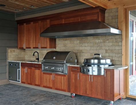diy outdoor kitchen cabinets outdoor kitchen creativity what to do with that 6870
