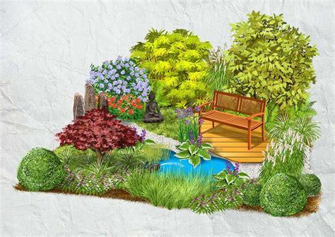 Japanischer Garten Vorschläge by Die Besten 25 Asiatischer Garten Ideen Auf