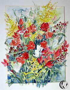 Aquarell Blumen Malen : hattingen malen am meer ~ Frokenaadalensverden.com Haus und Dekorationen