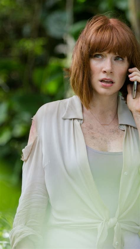 actress in jurassic world wallpaper bryce dallas howard most popular celebs