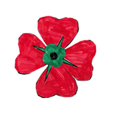 memorial day poppy paper craft instructions