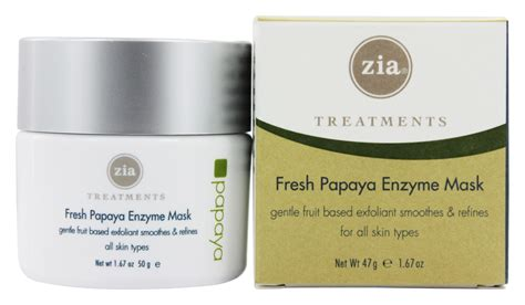 Buy Zia - Treatments Fresh Papaya Enzyme Mask - 1.67 oz ...