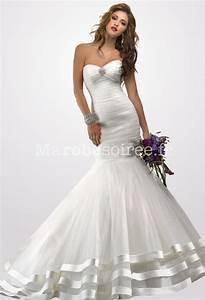 Robe De Mariee Sirene : coiffure mariage robe sirene ~ Melissatoandfro.com Idées de Décoration