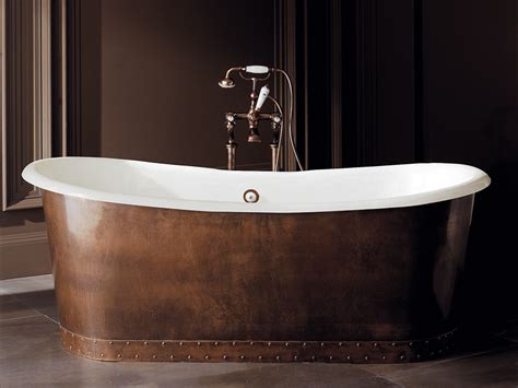 Trough Tub by Freestanding Cast Iron Bathtub Ambra By