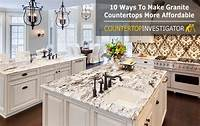 granite countertops prices Granite Countertops Cost - 10 Ways To Get Them For Less
