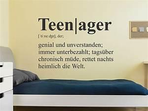 Wandtattoo Teenager Definition WANDTATTOO DE