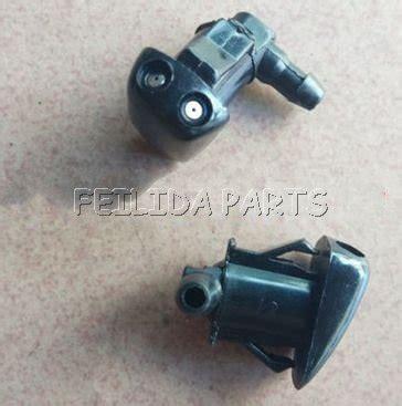 motor repair manual 2005 toyota echo windshield wipe control pair windshield washer nozzle for 08 1999 12 2005 toyota echo yaris in windscreen wiper blow