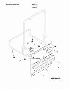 Frigidaire Model Ffbd2412sm0a Dishwasher Genuine Parts