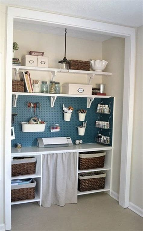 Storage Inspiration Small Spaces by Small Space Inspiration 10 Closets Turned Workspaces