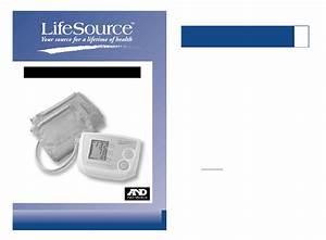 Lifesource Blood Pressure Monitor Ua