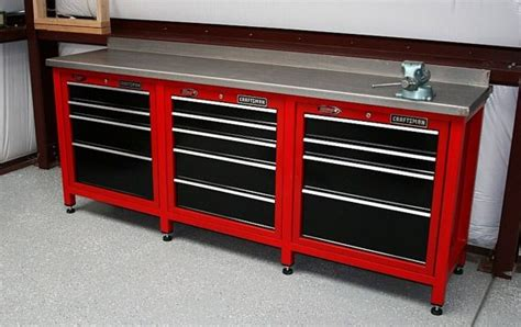 garage tool bench craftsman workstation tool boxes workstations
