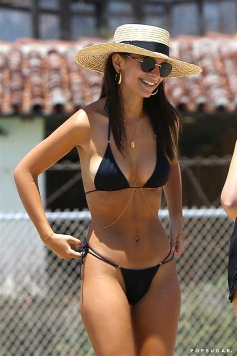 emily ratajkowski bikini pictures popsugar celebrity