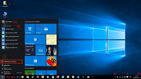 organiser bureau windows 7 module 2 le système d 39 exploitation windows 10 1 3