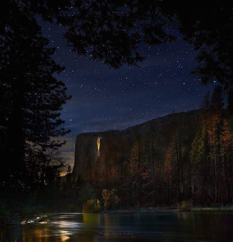 This Moonlit Yosemite Waterfall Looks Like Cascade