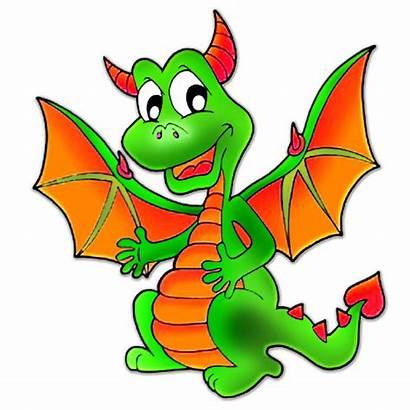 Dragon Clipart Cartoon Clip Cliparts Icons Personal