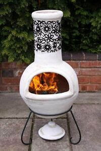 Mexican Fireplace Chiminea by Mexican Clay Chimenea Clay Chiminea Patio Heater Bowl