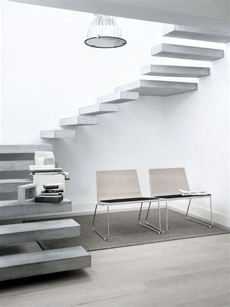 gorgeous floating staircase designs   big statement