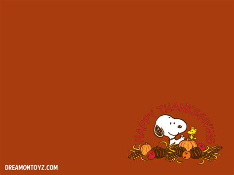 Peanuts Thanksgiving Wallpaper 2017