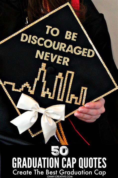 graduation cap decoration quotes