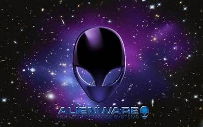 Alienware Wallpapers Purple Dell Backgrounds Logos Gaming