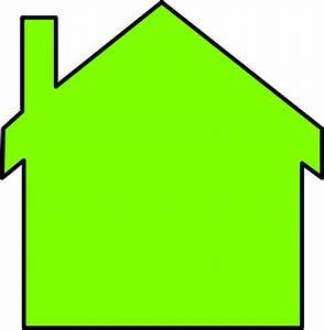 New House Outline Clip Art at Clker.com - vector clip art ...
