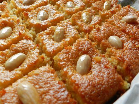 recette de cuisine choumicha basboussa facile faire choumicha cuisine marocaine