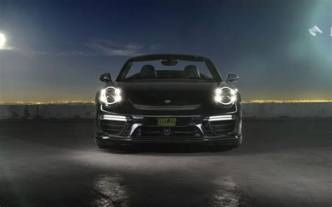 2018 Techart Porsche 911 Convertible 2 Wallpaper Hd Car