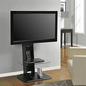 Altra Furniture Galaxy WMount Black TV Stand EBay