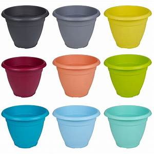 Pot Fleur Plastique : plastique plante pot de fleur jardin support pots herbe ~ Premium-room.com Idées de Décoration