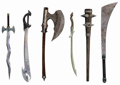 Weapon Middle Sword Weapons Ages Shall Prosper
