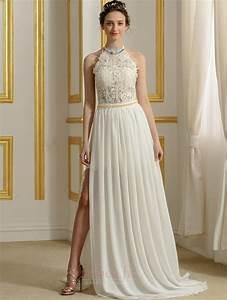 Robe De Mariée Moderne : robe de mari e sans manches perle moderne couvert de ~ Melissatoandfro.com Idées de Décoration