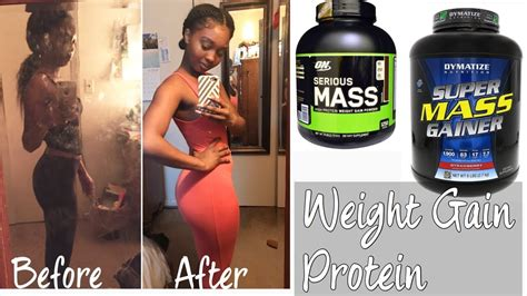 My Favorite WEIGHT GAIN protein powders & 2,000 CAL