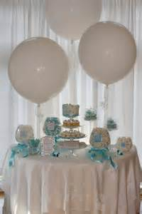 Tiffany Blue Candy Table for a Bridal Shower