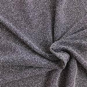 Tissu Gris Chiné : tissu viscose souple gris chin au m tre ~ Teatrodelosmanantiales.com Idées de Décoration