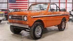 1979 International Scout Orange
