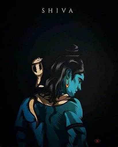 Shiva Mahadev Rudra Lord Unseen Wallpapers Painting