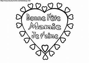 Coloriage Fleur Bonne Fête Mamie