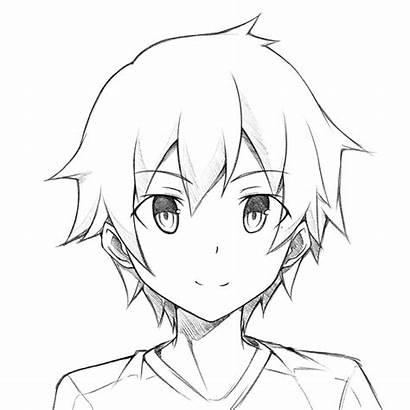 Anime Boy Drawing Easy Manga Sketch Drawings
