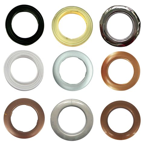 Plastic Drapery Grommets by 10 X 42mm Plastic Curtain Eyelets And Rings Grommets