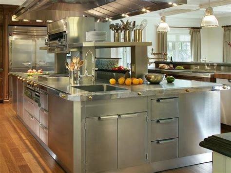 Stainless Steel Kitchen Cabinets Pictures, Options, Tips