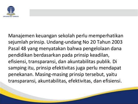 manajemen keuangan publik inisiasi 7 konsep dasar pengelolaan keuangan prinsip dan