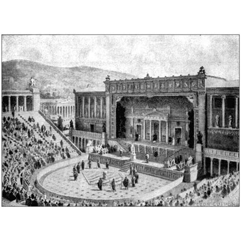 history architecture  ancient greek theaters